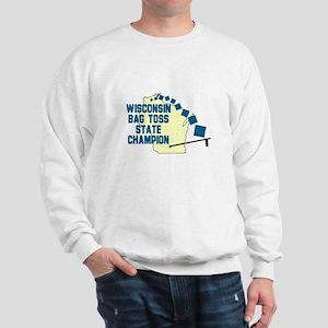 Wisconsin Bag Toss State Cham Sweatshirt