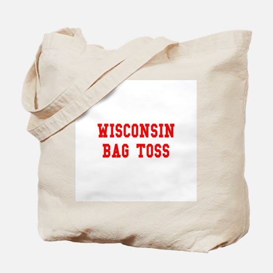 Wisconsin Bag Toss Tote Bag
