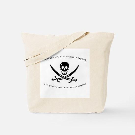 Pirating Trucker Tote Bag