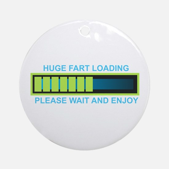 FART Round Ornament