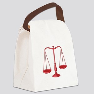 Scales Of Justice Canvas Lunch Bag