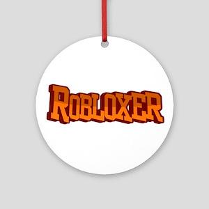 Roblox3 Round Ornament