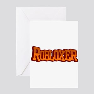 Roblox3 Greeting Cards