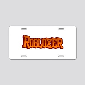 Roblox3 Aluminum License Plate