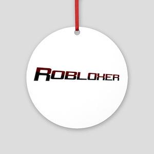 Robloxerloo Round Ornament