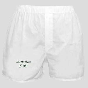Ask Me About Kaleb Boxer Shorts