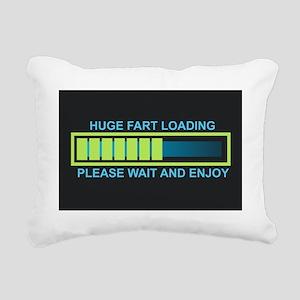 FART Rectangular Canvas Pillow