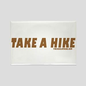 Take a Hike Rectangle Magnet