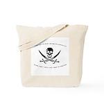 Pirating Accountant Tote Bag