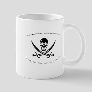 Pirating Accountant Mug