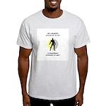 Accountant Superhero Light T-Shirt
