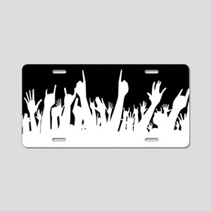 Audience Poster Background Aluminum License Plate
