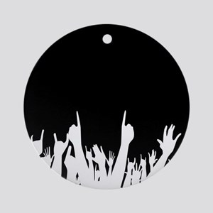 Audience Poster Background Round Ornament