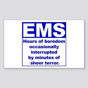 EMS - Boredom... Rectangle Sticker
