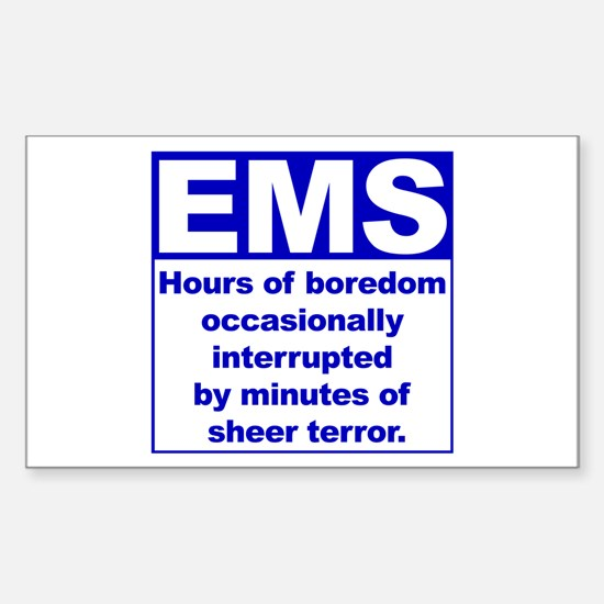 EMS - Boredom... Rectangle Decal