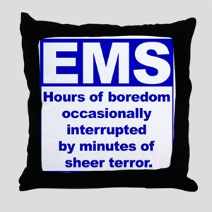 EMS - Boredom... Throw Pillow