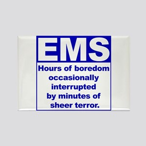 EMS - Boredom... Rectangle Magnet