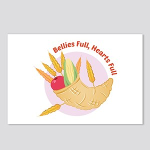 Bellies Full Postcards (Package of 8)