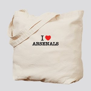 I Love ARSENALS Tote Bag