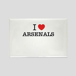 I Love ARSENALS Magnets