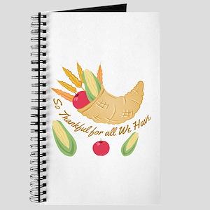 So Thankful Journal
