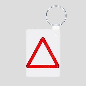 Vehicle Warning Triangle Keychains