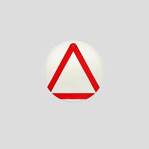 Vehicle Warning Triangle Mini Button