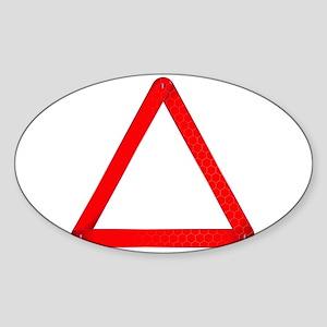 Vehicle Warning Triangle Sticker