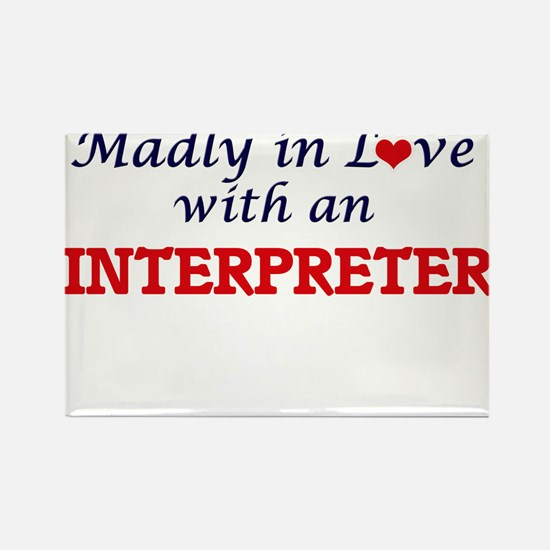 Madly in love with an Interpreter Magnets