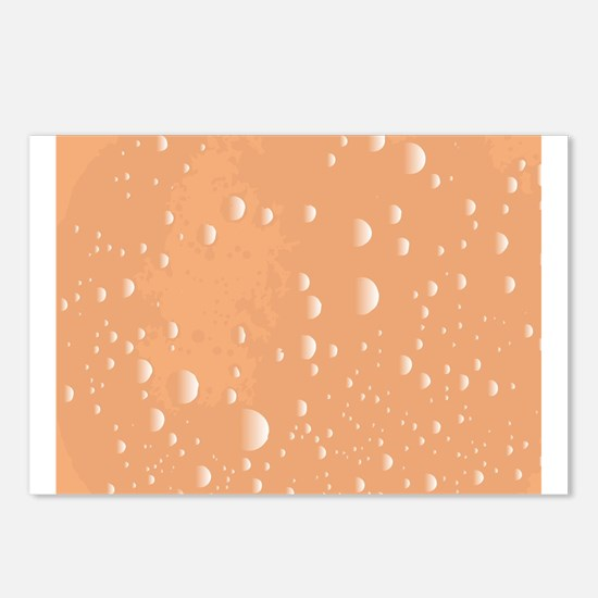 Tea Bubble Background Postcards (Package of 8)