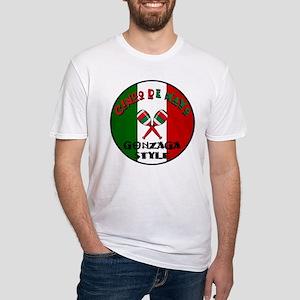 Gonzaga Cinco De Mayo Fitted T-Shirt