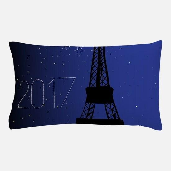 Paris Night 2017 Pillow Case