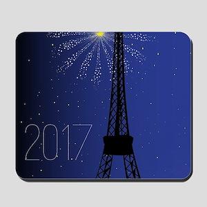 Paris Night 2017 Mousepad