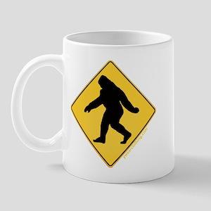 Big Foot Crossing Mug