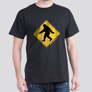 Big Foot Crossing Dark T-Shirt