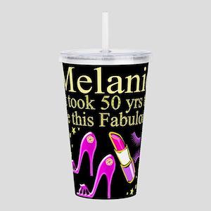 50TH GLAM GIRL Acrylic Double-wall Tumbler