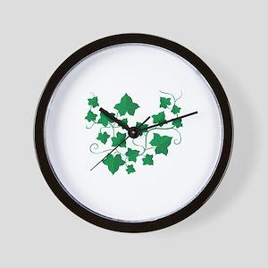 Ivy Vines Wall Clock