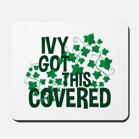 Ivy Covered Mousepad