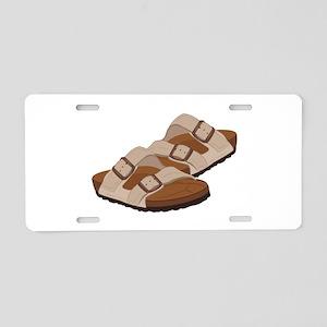 Birkenstock Sandals Aluminum License Plate