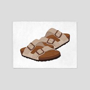Birkenstock Sandals 5'x7'Area Rug