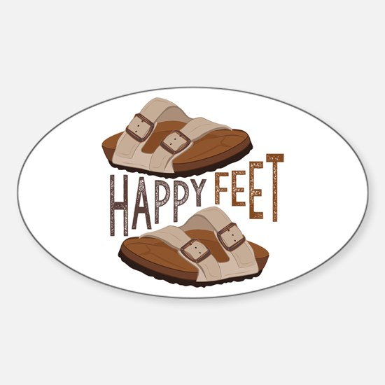 Happy Feet Decal