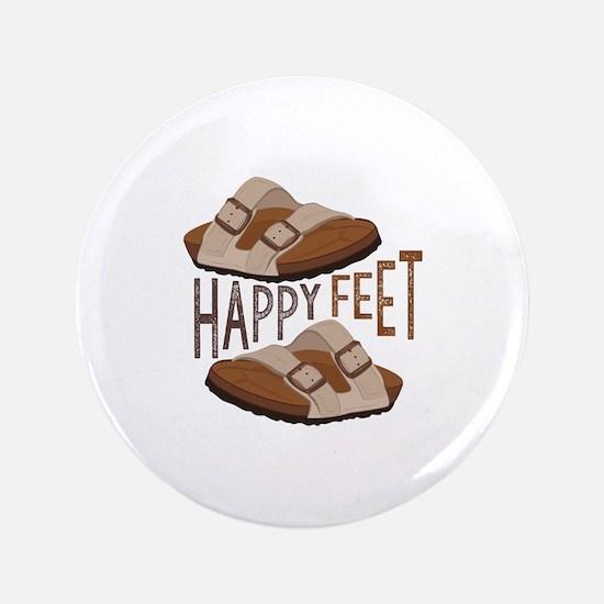 Happy Feet Button