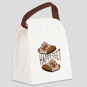 Happy Feet Canvas Lunch Bag