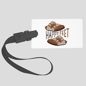 Happy Feet Luggage Tag