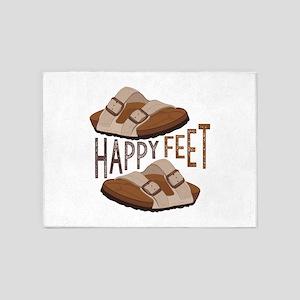 Happy Feet 5'x7'Area Rug