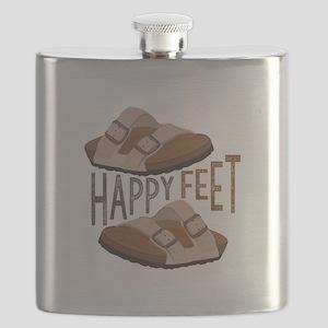 Happy Feet Flask