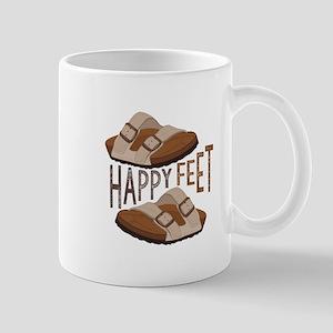 Happy Feet Mugs