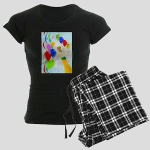 Champagne Party 2017 Women's Dark Pajamas