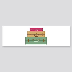 Suitcases Bumper Sticker