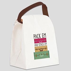 Pack Em Canvas Lunch Bag